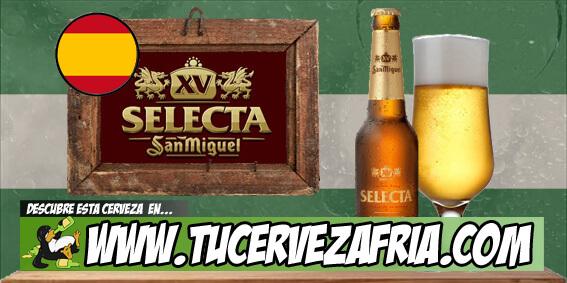 Cerveza San Miguel SELECTA XV