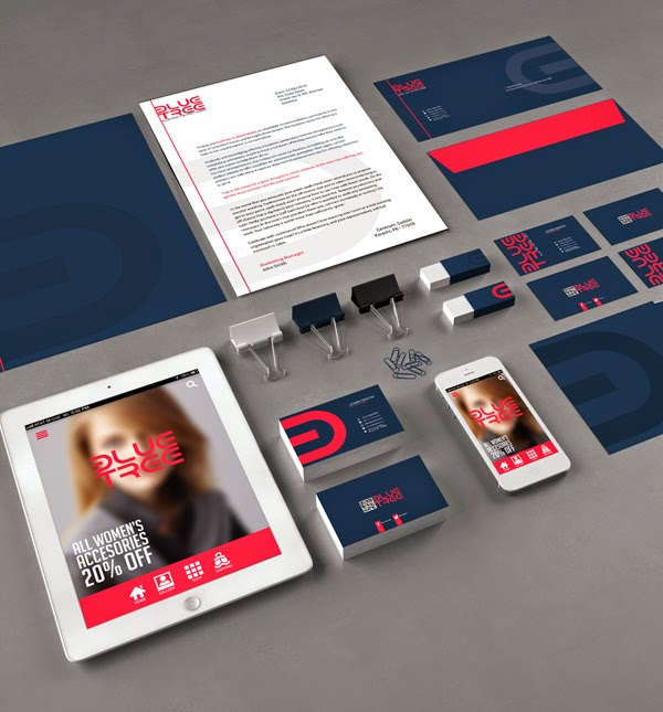 Free Corporate Branding Template PSD