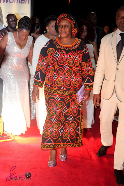 MAMA G At the London Premiere of Why Marry