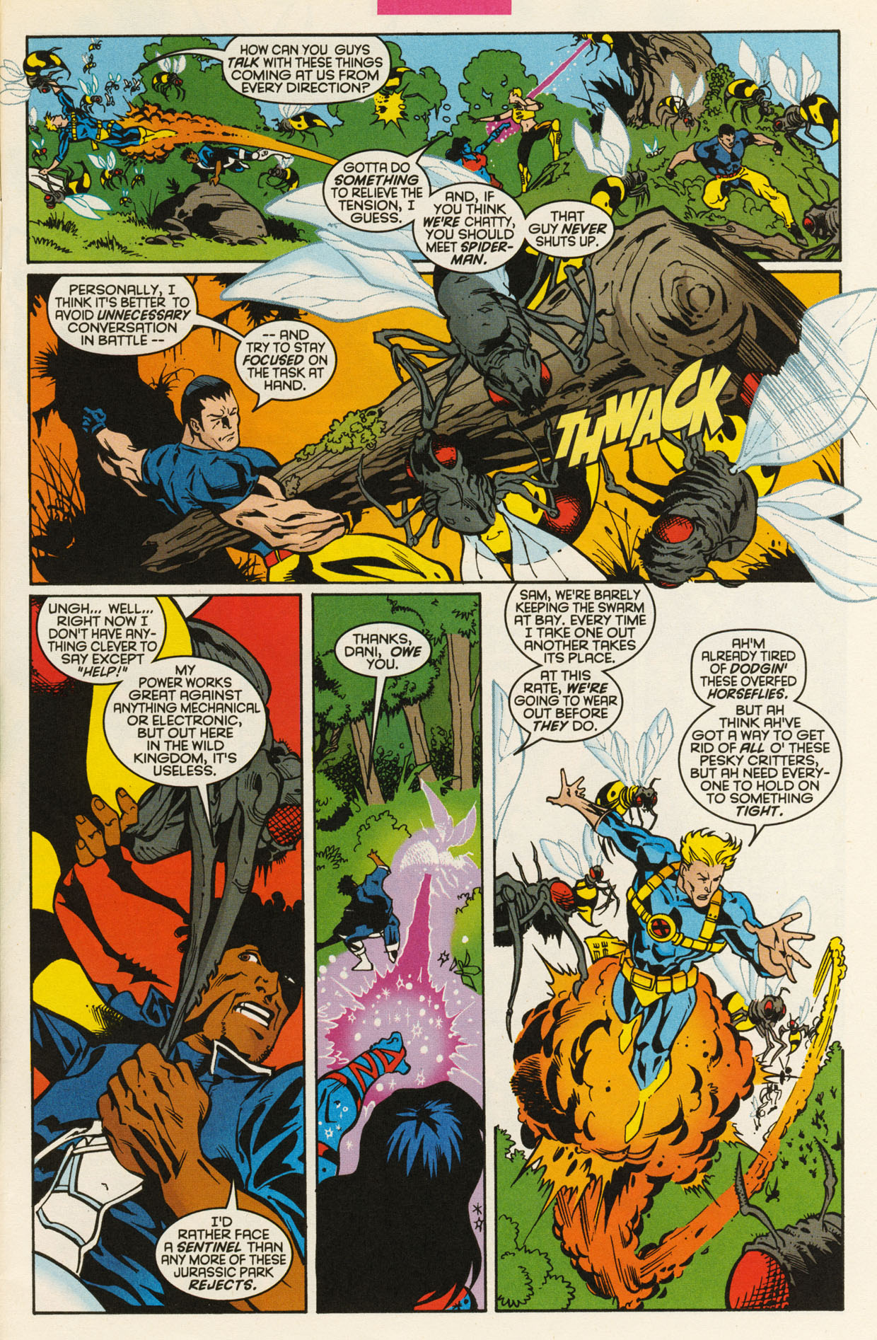 Read online X-Force (1991) comic -  Issue #93 - 5