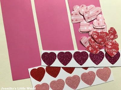 How to make Valentine's Day keepsake bookmarks craft