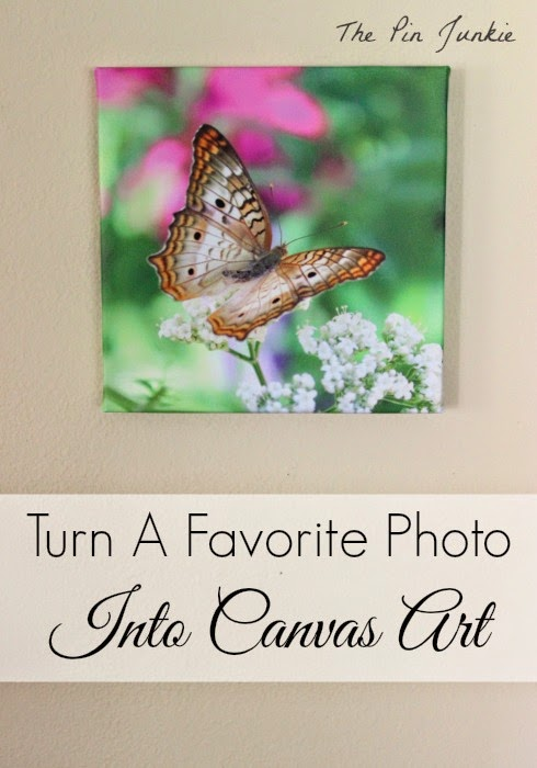 Turn A Favorite Photo into Canvas Art