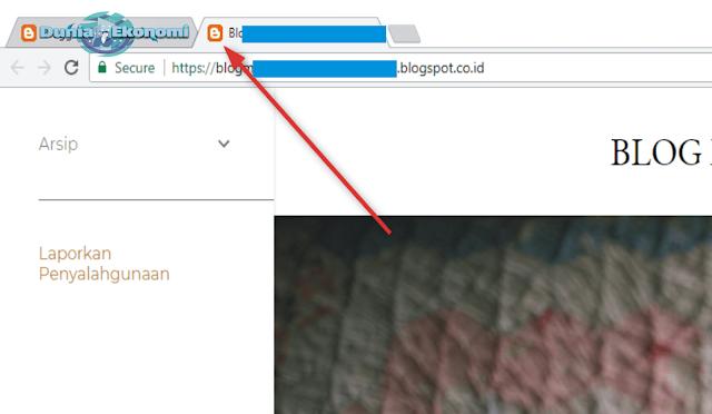 Cara Memasang Favicon dan Mengganti Judul Blog dengan Logo Khusus Untuk Pemula