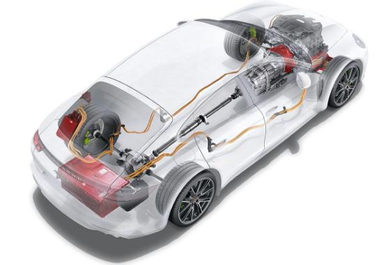 2018 Porsche Panamera 4 E-Hybrid Engine