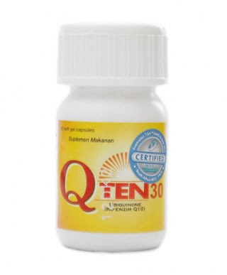Q Ten - Manfaat, Efek Samping, Dosis dan Harga