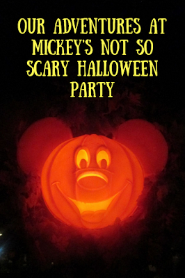 Our adventures at mickey's not so scary halloween party