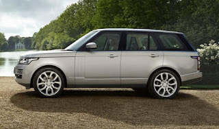 Range Rover Autobiography: Driver and passenger Seat