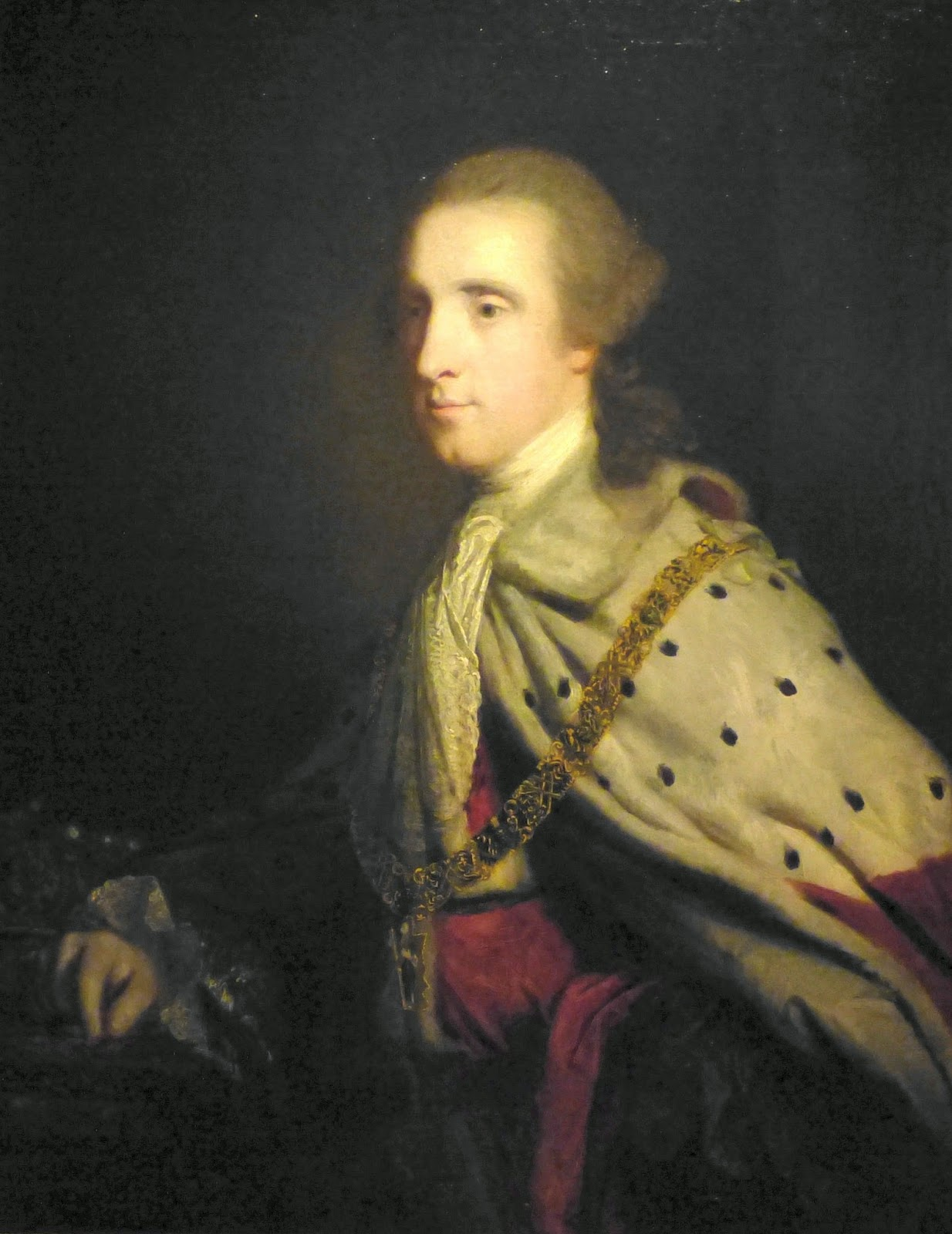 4th Duke of Queensbury (Old Q)   by Sir Joshua Reynolds (1759)  © The Wallace Collection; Photo © Andrew Knowles