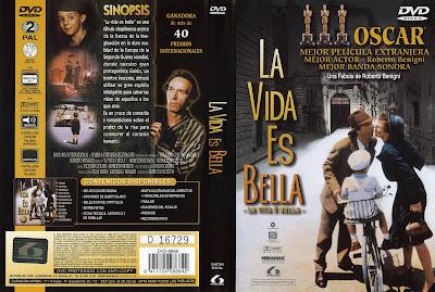 Carátula dvd: La vida es bella (1997) La vita è bella