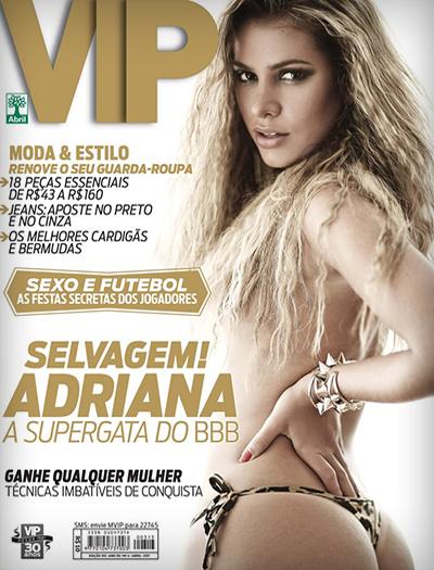 Adriana Sant'Anna pelada