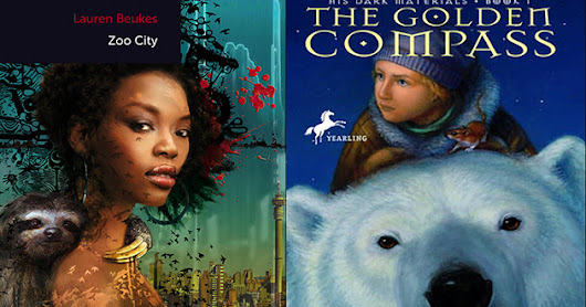 Bookish Delights: The Golden Compass Meets Zoo City | Simple Syrup - A Sweet Mix of Life