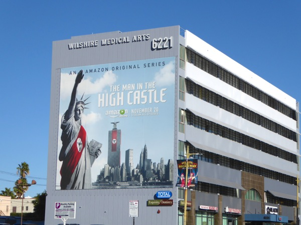 Giant Man in the High Castle billboard