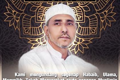 Undangan Khatam Tahlil Wafatnya Habib Abdurrahman Alatas Dari Habib Hanif Alatas