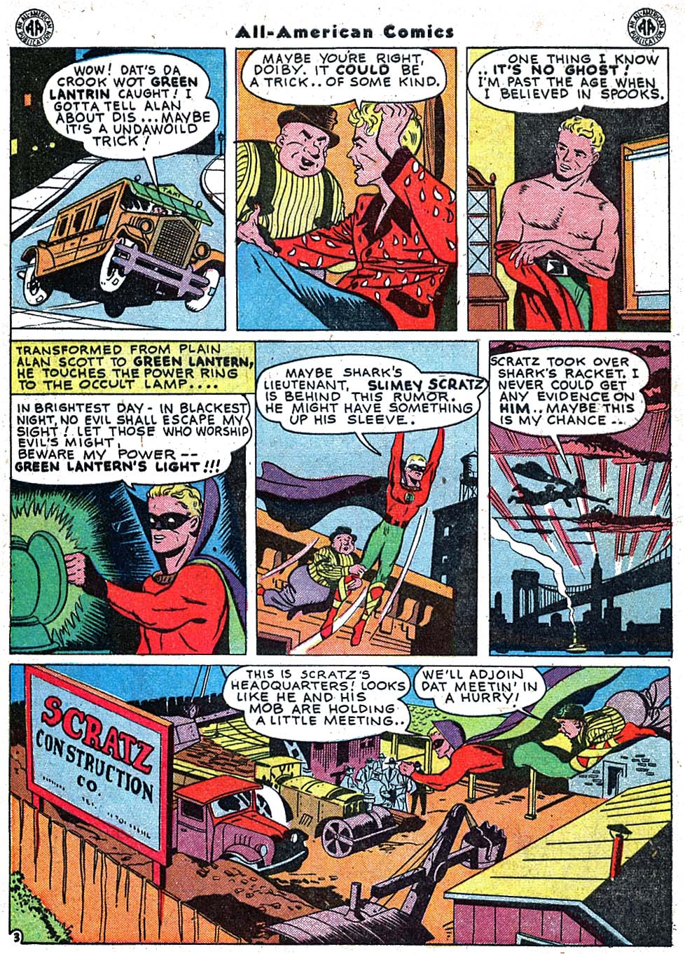 Read online All-American Comics (1939) comic -  Issue #67 - 5