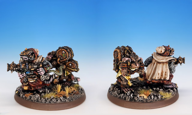 Skaven Warpfire Thrower, Skaven C22 C47 (Citadel, Jes Goodwin, 1986)