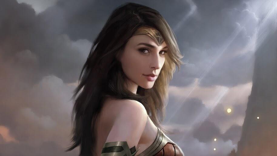 Wonder Woman, DC, Superhero, Art, 4K, #6.1194