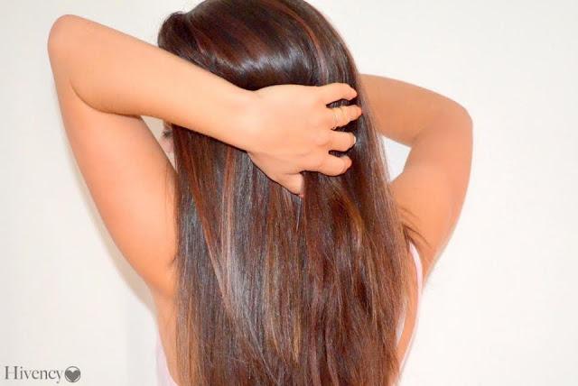 cheveux longs - cheveux en bonne santé - cheveux soyeux