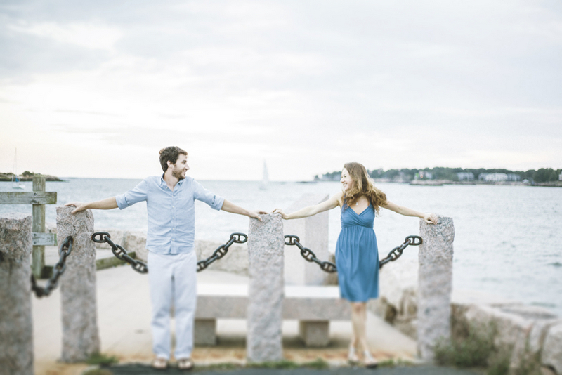 Connecticut Seaside Engagement Session by Joanna Fisher Photography