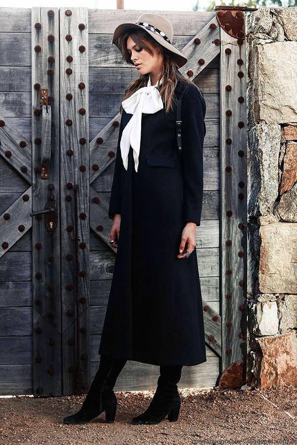 Maxi tapado invierno 2016 ropa de mujer Tucci.