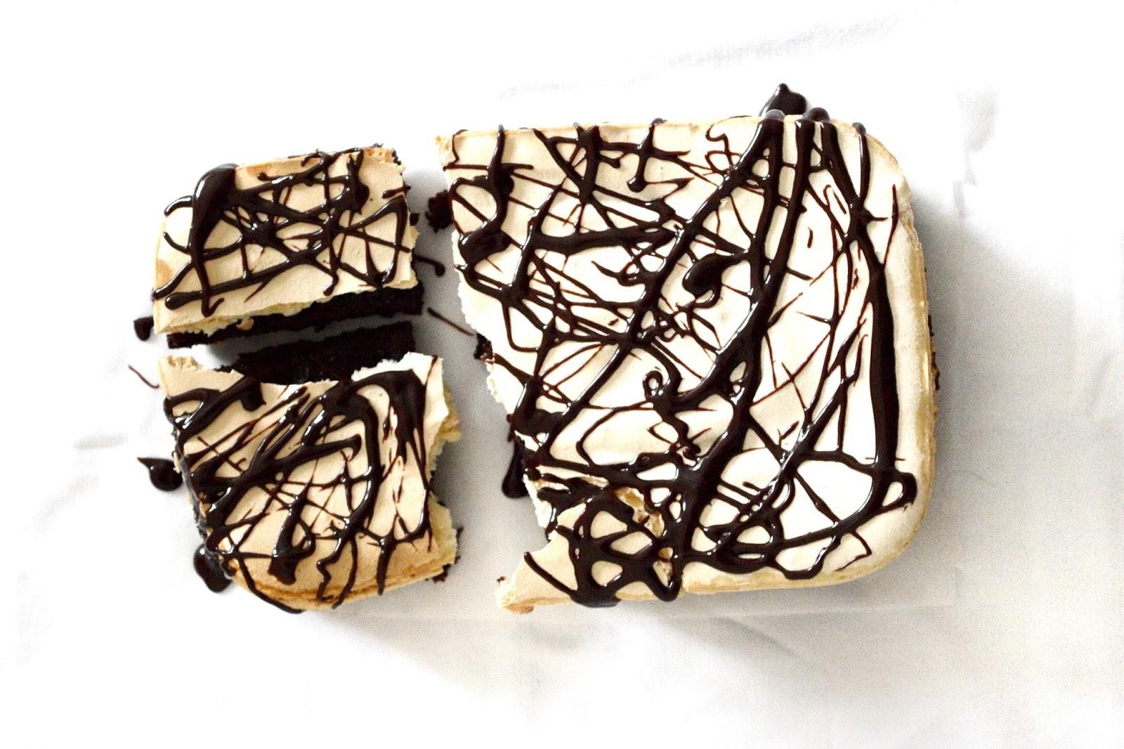 meringue chocolate brownies recipe