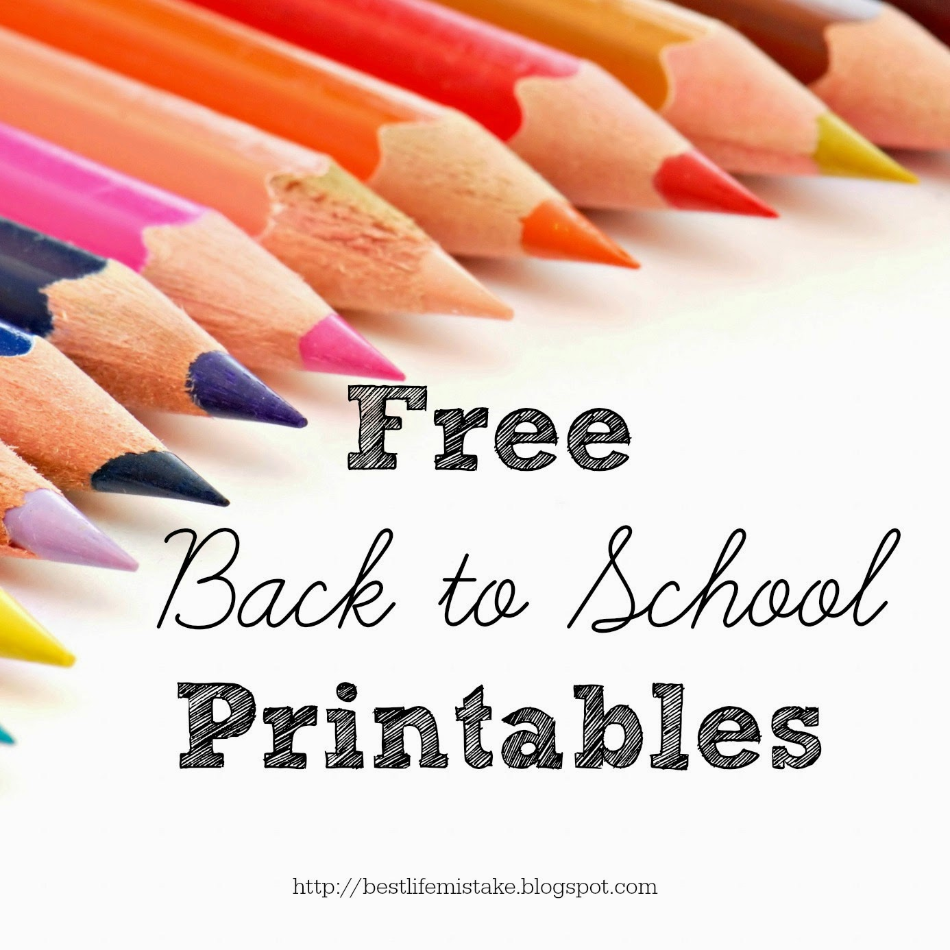 Some Of The Best Things In Life Are Mistakes Free Back To School Printables