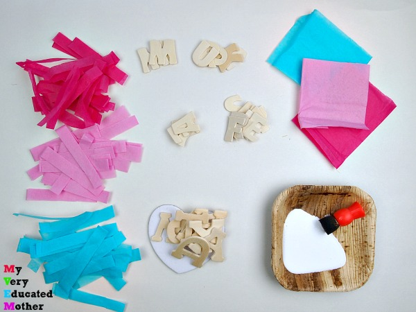 Crafting with Tissue Paper