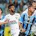 Grêmio sai atrás, mas vira e vence Flu por 3 a 1 em noite de Barrios na Arena