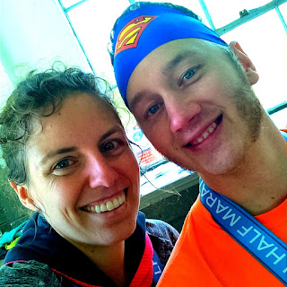 half marathon race running buddy post-race fitness