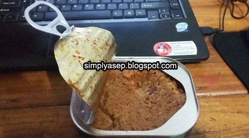 NASI IKAN PANGGANG : Inilah salah satu MTP nasi dengan lauknya Nasi Ikan Panggang yang nikmat. Sudah saya coba.  Foto Asep Haryono