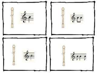 Composing in the Music Room: Great ideas for your music lessons to easily have students compose! Blog post includes link to free recorder composing cards!