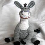 Patron gratis burro amigurumi | Free amigurumi pattern donkey