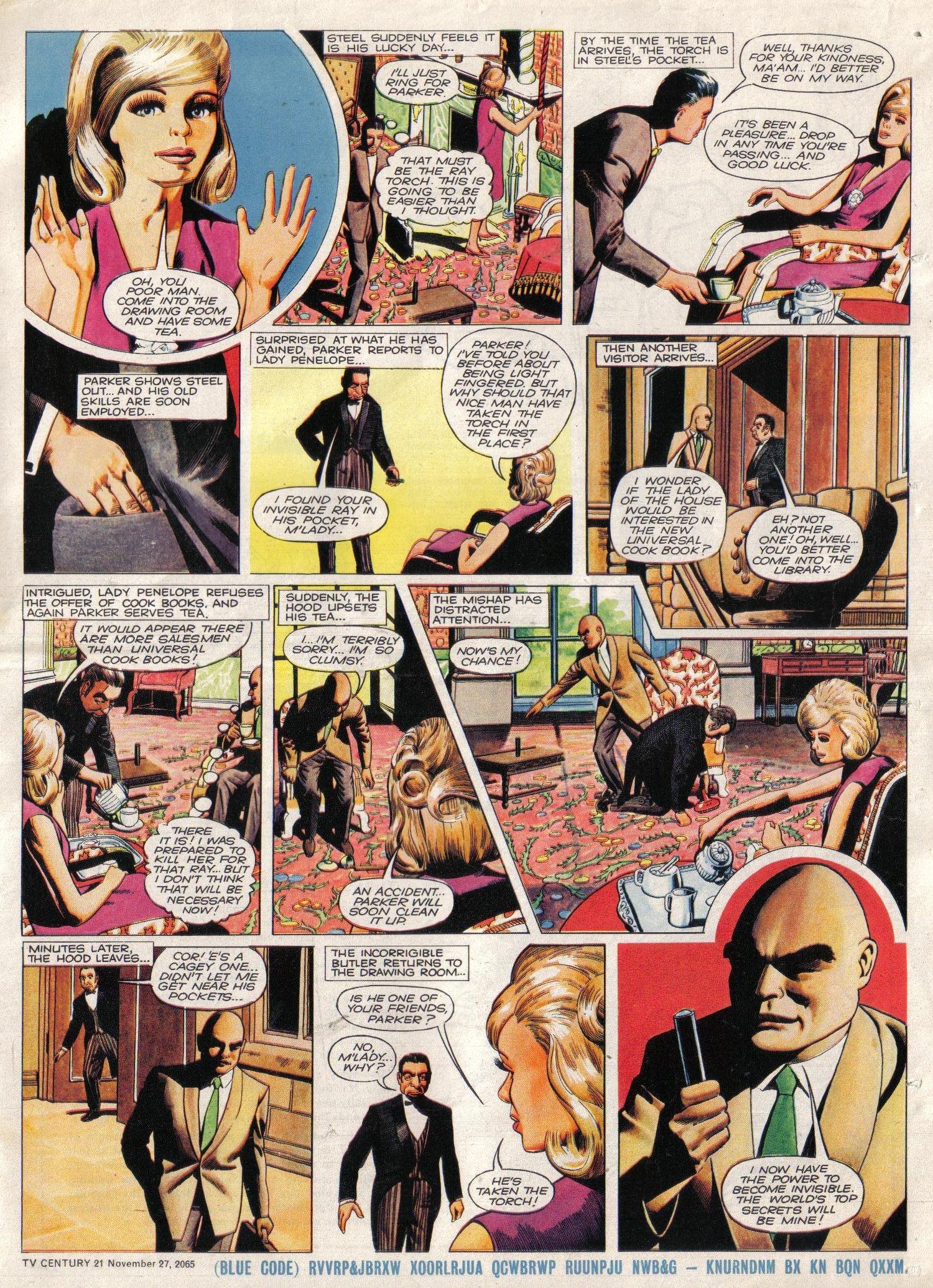 Read online TV Century 21 (TV 21) comic -  Issue #45 - 24