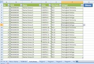 sheet data siswa untuk piagam