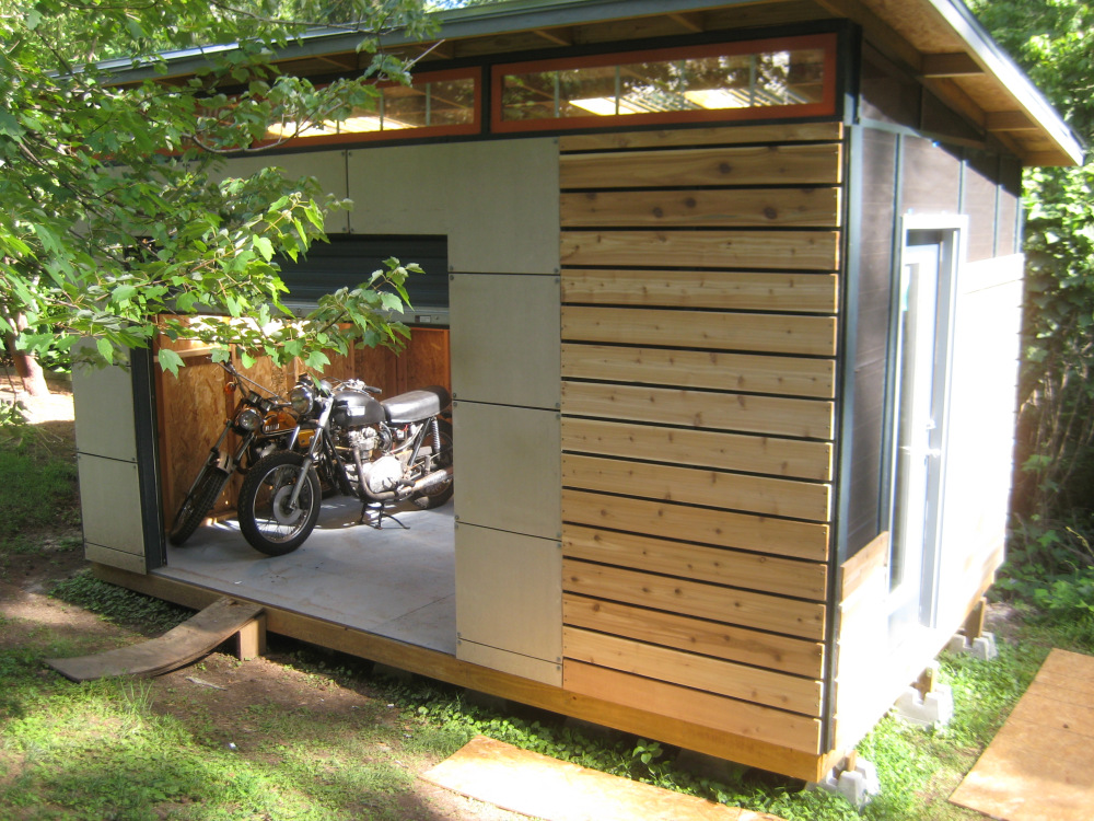Wood Garden Shed Such A Cute Space To Start Your Flowers. Or A Home Office?  This One Is To Buy. Click Here For More Info.