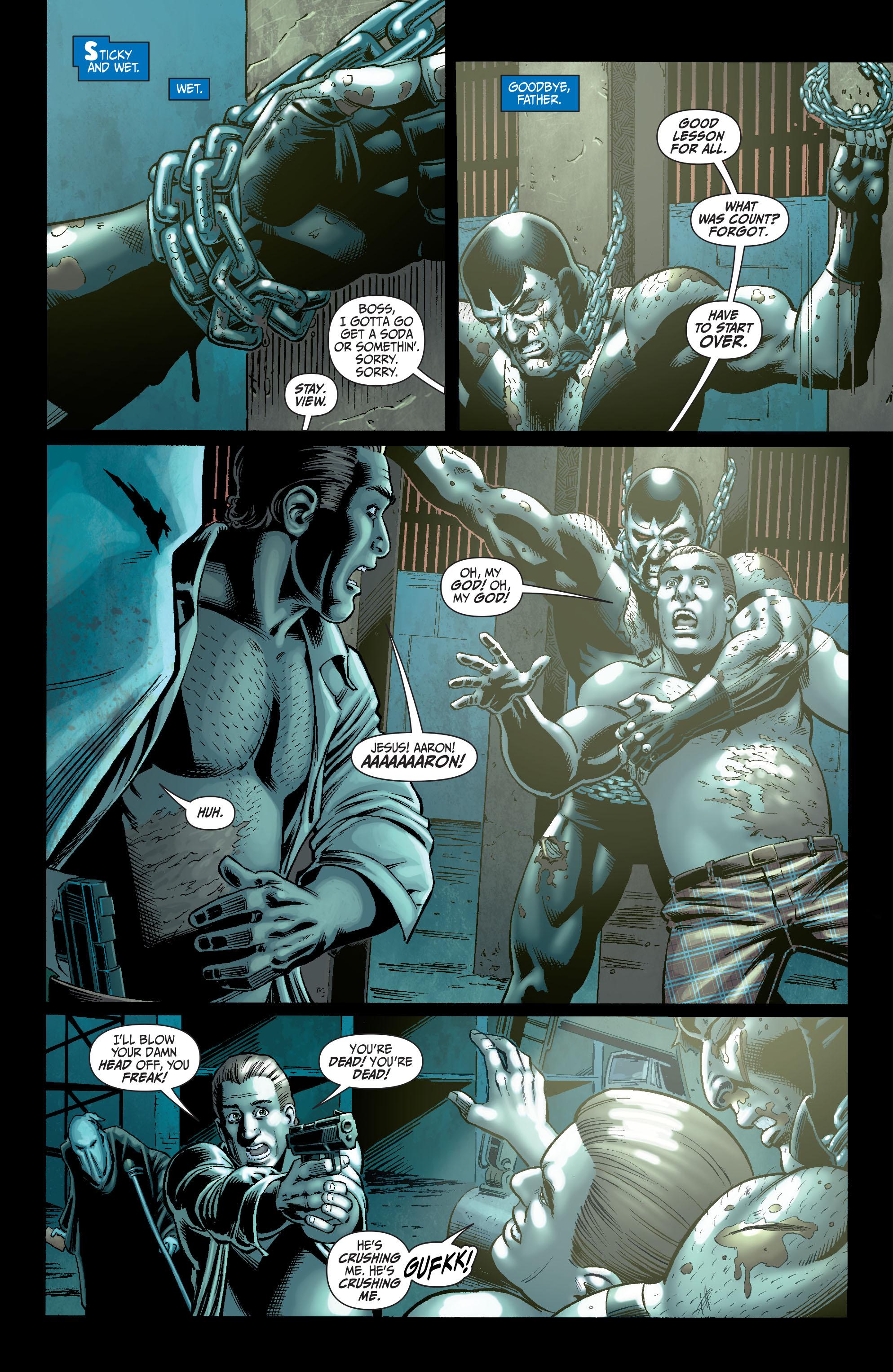 Read online Secret Six (2008) comic -  Issue #5 - 13