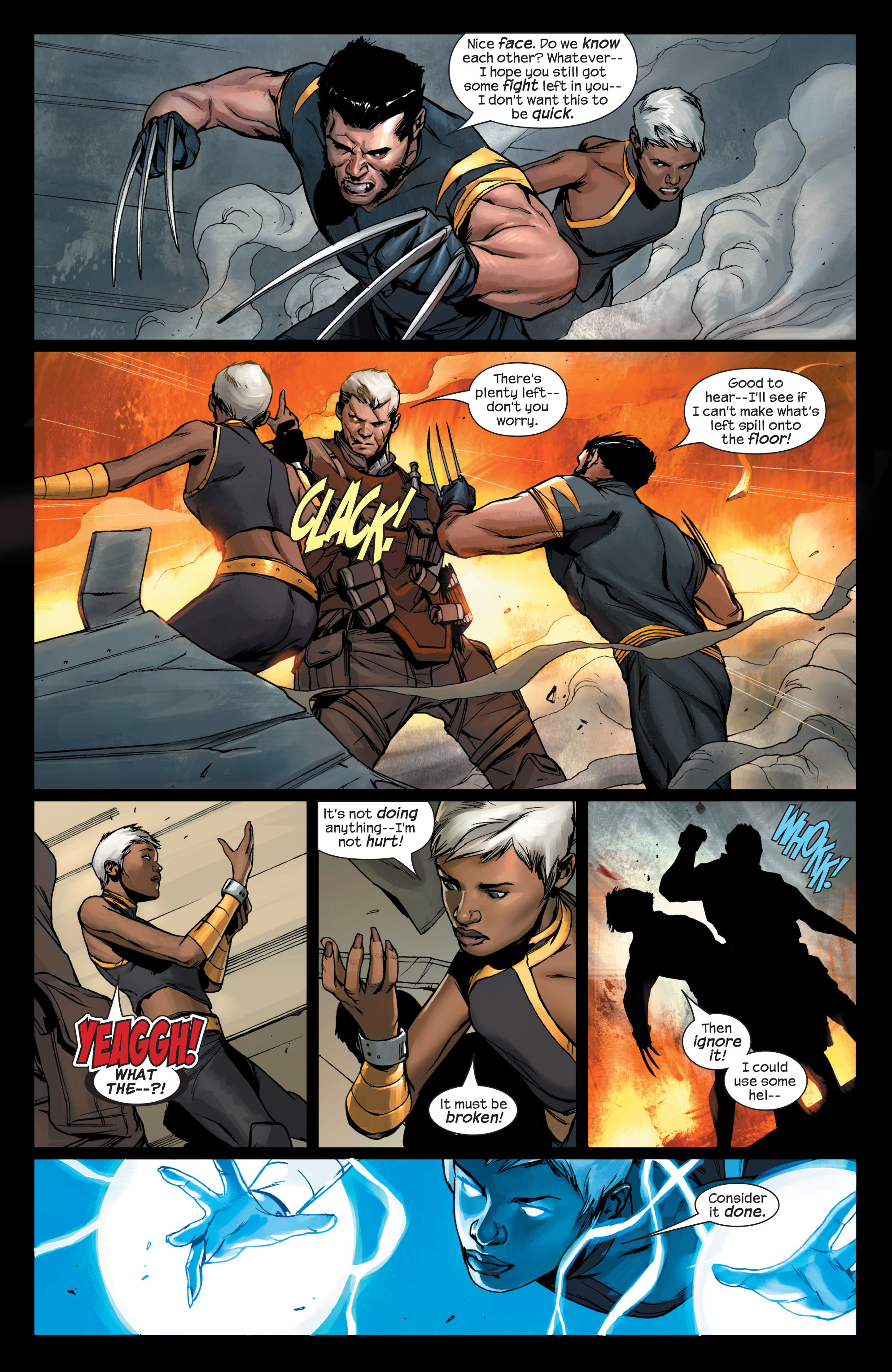 Read online Ultimate X-Men comic -  Issue #75 - 21
