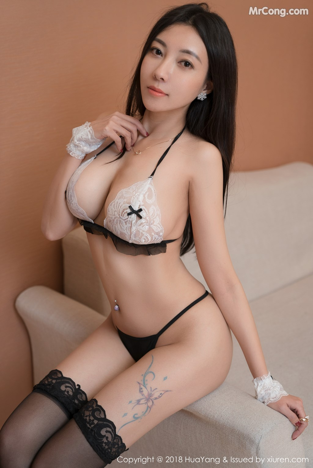 Image HuaYang-2018-01-26-Vol.028-Victoria-Guo-Er-MrCong.com-019 in post HuaYang 2018-01-26 Vol.028: Người mẫu Victoria (果儿) (41 ảnh)