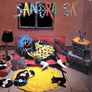Capa do disco Sandra de Sá, lançado em 1986 por Sandra Sá