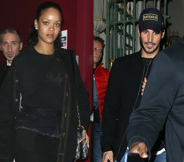 Rihanna spotted in London with her billionaire boyfriend Hassan Jameel...(photos)