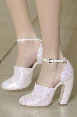 Zapatos blancos juveniles