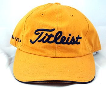 Titleist Yellow Hat  5cee7935422