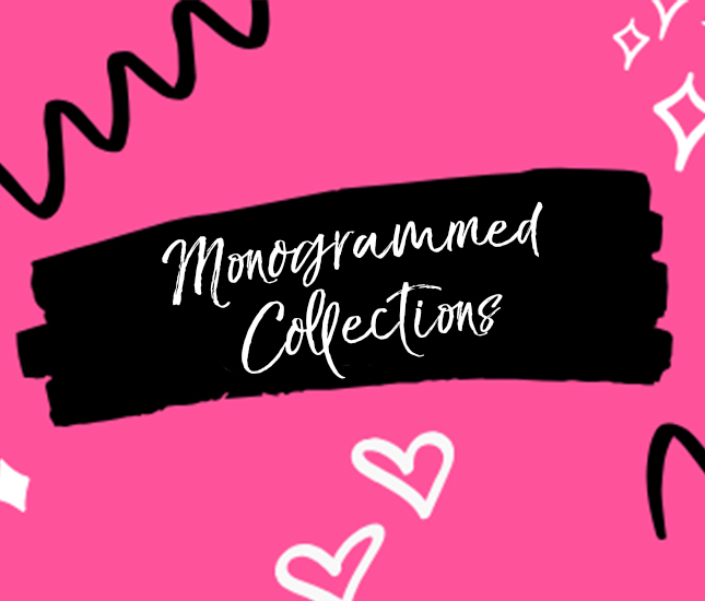 monogram items for every occasion