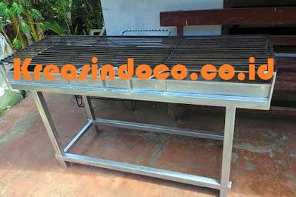 Jasa Pembuatan Bakaran Sate Stainless Steel