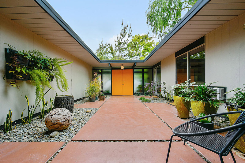 Eichler For Sale In Walnut Creek Ca on eichler atrium home floor plans