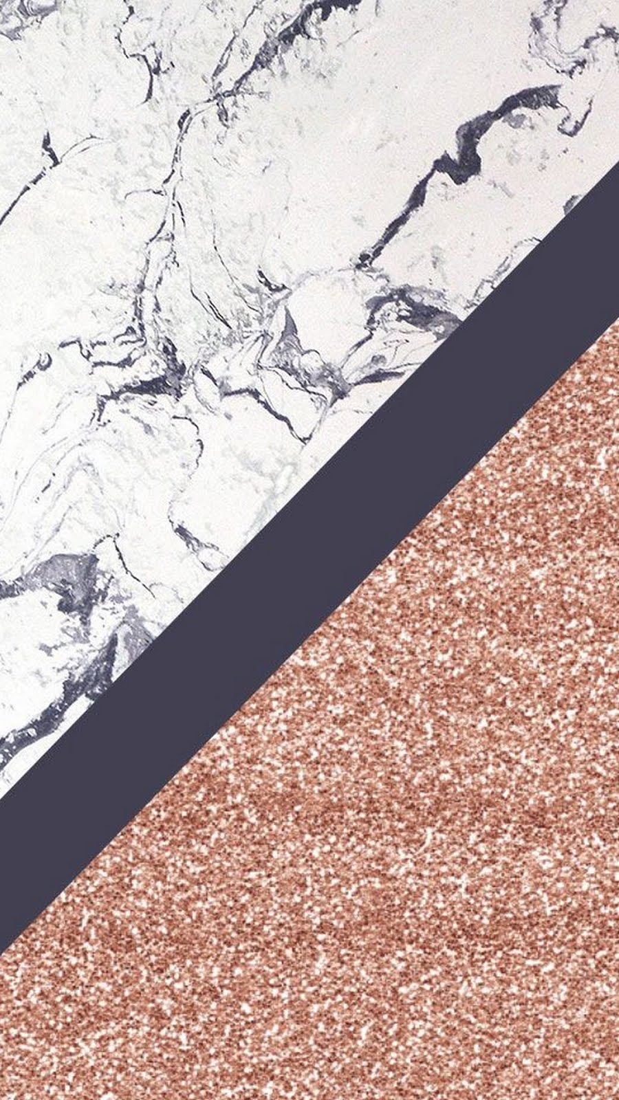 Iphone 7 Wallpaper Rose Gold Marble
