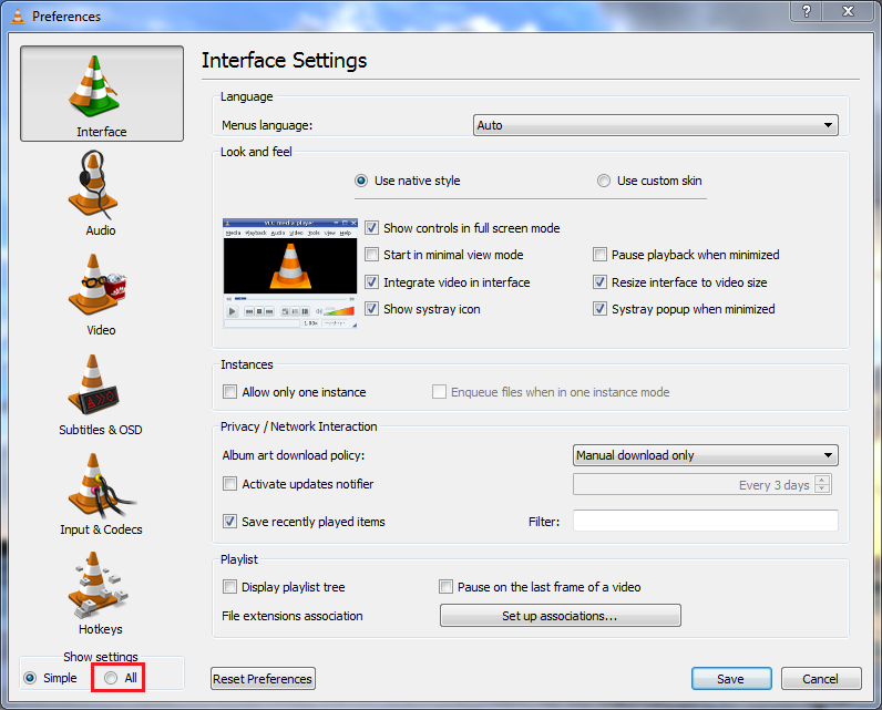 My Apps  : How to enable http interface in VLC Player 2 0 0 (Twoflower)