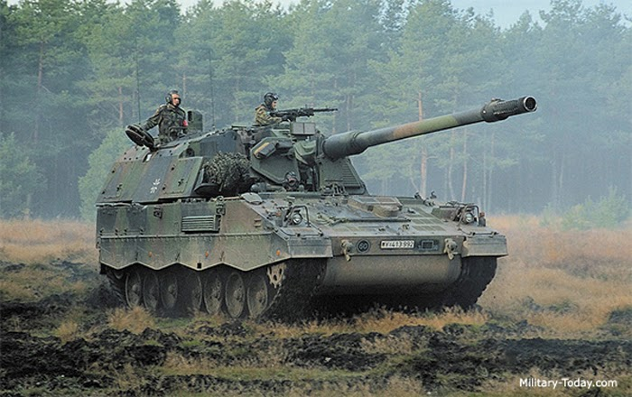 PzH2000 self propelled gun. image: Militarytoday
