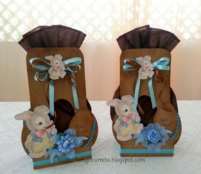 Embalagens artesanais para Páscoa