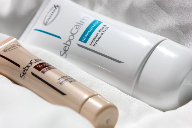 Отзыв: Израильская косметика SeboCalm - Увлажняющий крем и Защитный тонирующий крем с СПФ29 - SeboCalm Moisturizer & SeboCalm Triple Medium SPF29.