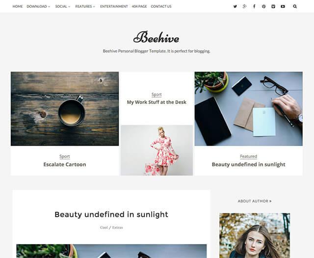 Free blogger templates for blogspot platform
